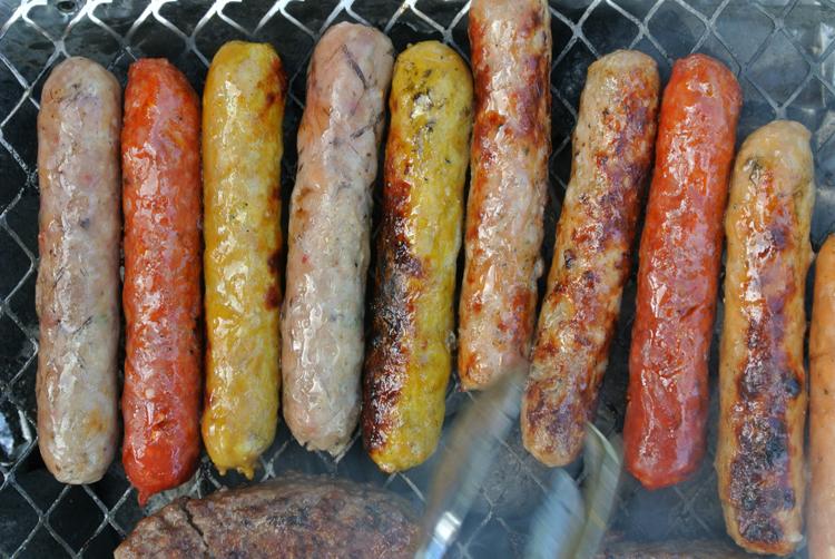 2014 05 23 44 bbq sausage rainbow