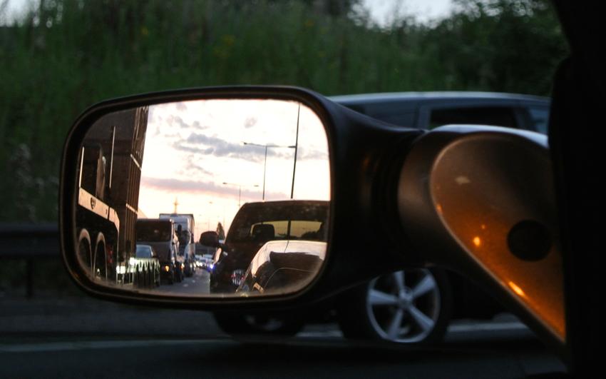 2014 07 24 M6 traffic jam